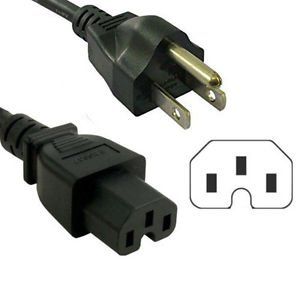 HQRP 6ft AC Power Cord for HP 2620 J8692A J8693A J9148A Procurve 3500 series