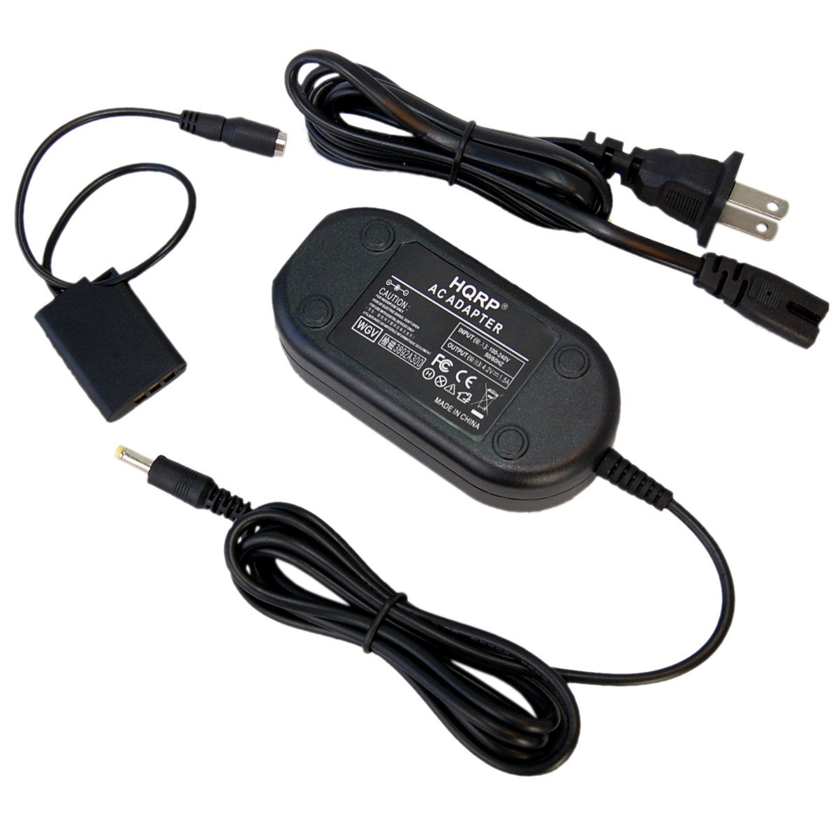 HQRP AC Adapter Power Supply Cord for Nikon EH-62E Coolpix S550 S560