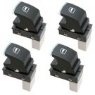 4-Pack HQRP Passenger Window Power Switches for VW Tiguan Golf Passat CC Jetta