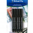 Entrust Pro Counterfeit Money Detector Pen Marker (5-Pack) Dollars Pesos Euros