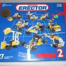 MECCANO METAL ERECTOR CONSTRUCTION SET  #030402