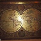 "1964 MASKETEERS OLD WORLD MAP, 1600's MAP STYLE 44"" x 30"""