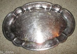 BARBOUR INTERNATIONAL SILVER PLATE SERVING TRAY