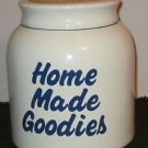 "HOUSE OF LLYOD 1993 COOKIE JAR   ""HOME MADE COOKIES"""