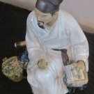 ANCIENT PORCELAIN SCHOLAR FARMER MERCHANT MAN
