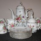 ROYAL CROWN DERBY PATTERN  #1147 TEA SET 16 PIECES