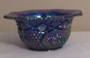 AMETHYST CARNIVAL DISH BOWL DEEP PURPLE
