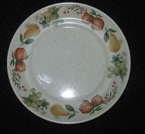 "8 WEDGWOOD QUINCE SAUCER PLATES 6"" DIAMETER"