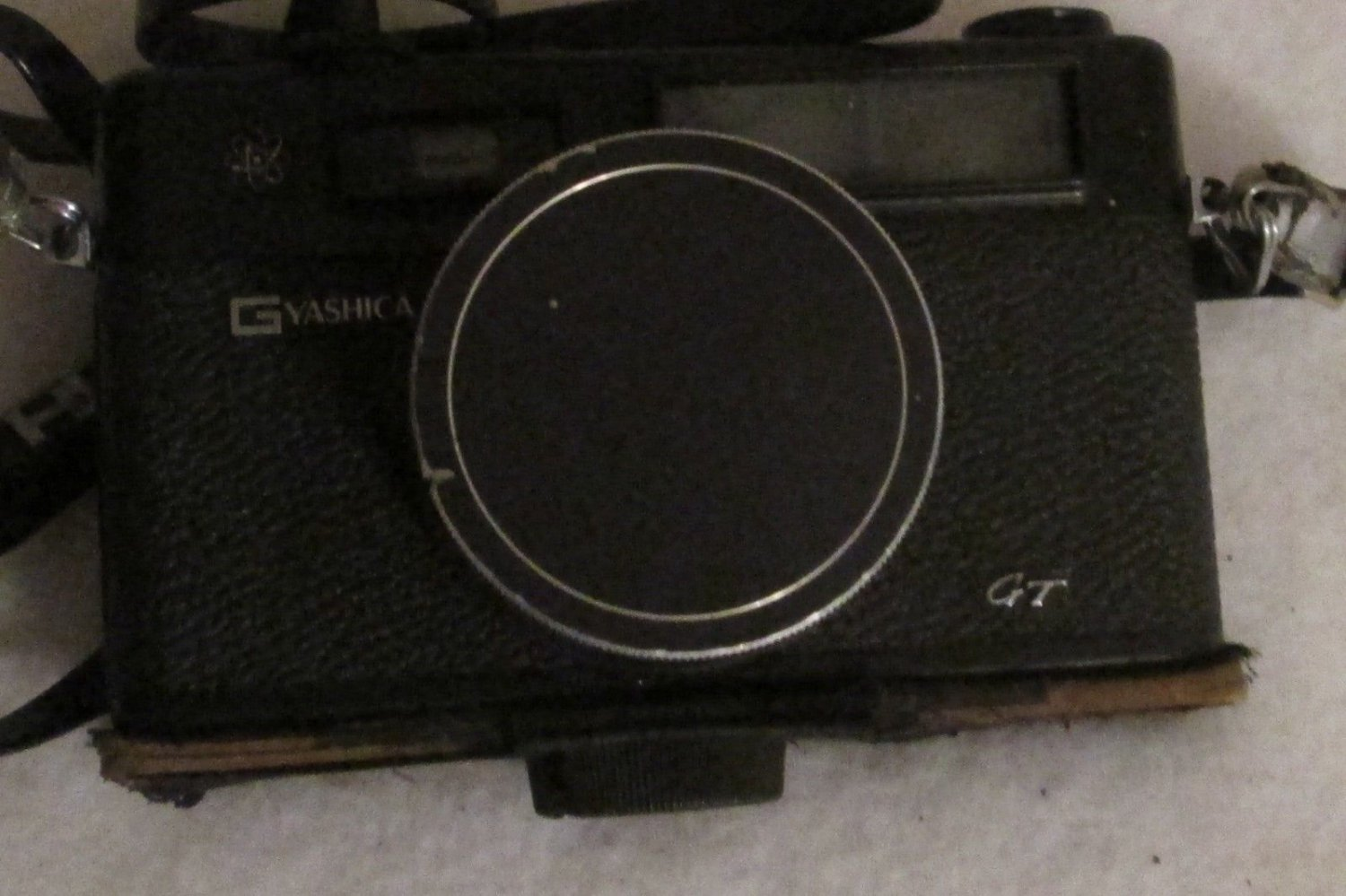YASHICA ELECTRO 35 GT 35MM FILM CAMERA WITH MANUAL SN:01259709