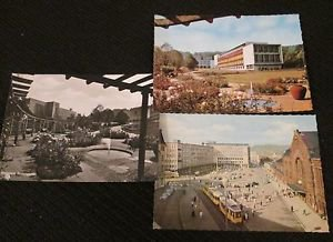 3 BIELEFELD, GERMANY POSTCARDS ERA 1950/60 UNUSED