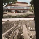 2 OBERHAUSEN, GERMANY POSTCARDS ERA 1950/60 UNUSED