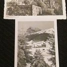 2 WINTERSPORTPLATZ GARGELLEN, GERMANY POSTCARDS ERA 1950/60 UNUSED