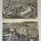 "2 POSTCARDS STUTTGART, GERMANY 1940 ERA UNUSED 4"" X 5 3/4"""