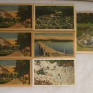 "7 POSTCARDS HOT SPRINGS, ARKANSAS 1940 ERA UNUSED 4"" X 5 3/4"""