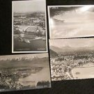 4 BREGENZ, GERMANY POSTCARDS ERA 1950/60 UNUSED