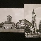 2 SCHORNDORF, GERMANY POSTCARDS ERA 1950/60 UNUSED