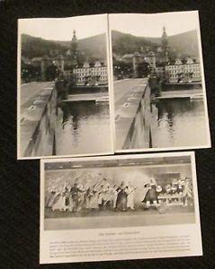 3 DIS WEIBER VON SCHORNDORF, GERMANY POSTCARDS ERA 1950/60 UNUSED