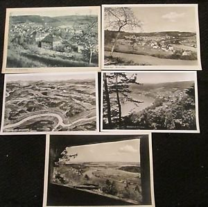 5 WALDSHUT HOCHRHEIN, GERMANY POSTCARDS ERA 1950/60 UNUSED