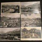 6 SALZBURG AUSTRIA POST CARDS ERA 1950/60 UNUSED