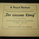 4 POSTCARDS KONIGSFCHLOB LINDERHOF A ROYAL RECLUSE 1950 ERA