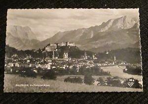 1 SALZBURG AUSTRIA POST CARDS ERA 1950/60 UNUSED