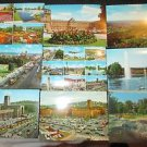 9 STUTTGART, GERMANY POSTCARDS ERA 1950/60 UNUSED