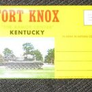 "FORT KNOX KENTUCKY ""THE ARMOR CENTER"" 14 VIEWS IN COLOR"