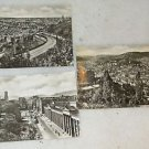 "3 POSTCARDS STUTTGART, GERMANY 1940 ERA UNUSED 4"" X 5 3/4"""