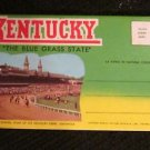 "FOLDING POSTCARD KENTUCKY ""THE BLUE GRASS STATE"" 14 VIEWS"