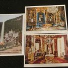 3 SCHLOB LINDERHOF MAURISCHER KIOSK, GERMANY POSTCARDS ERA 1950/60 UNUSED