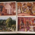 4 SCHLOB LINDERHOF MAURISCHER KIOSK, GERMANY POSTCARDS ERA 1950/60 UNUSED