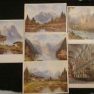 6 MUNCHEN / MUNICH, GERMANY POSTCARDS ERA 1950/60 UNUSED
