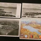 4 LINDAU IM BODENSEE, GERMANY  POSTCARD ERA 1950/60 UNUSED