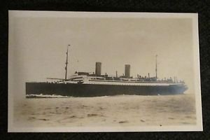 "POSTCARD SHIP NORDDEUTSCHER LLOYD BREMEN COLUMBUS 1940 ERA UNUSED 4"" X 5 3/4"""