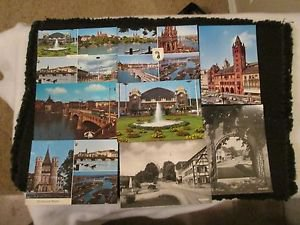 8  BASEL PALACE OF PARLIMENT L'HOTEL DE VILLE, GERMANY POSTCARDS ERA 1950/60