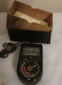 WESTON MASTER 715 PHOTOGRAPHY UNIVERSAL EXPOSURE LIGHT METER