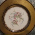 VINTAGE COLLECTIBLE PICKARD CHINA  GOLD HAND PAINTED DECORATED PLATE