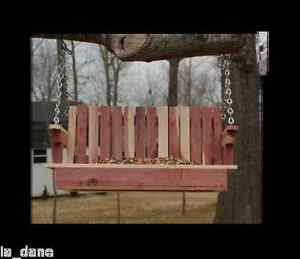 A VERY SPECIAL BIRD FEEDER,  SWING OR GLIDER