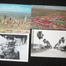 4  MISC, TEXAS  POSTCARDS   ERA 1950/60 UNUSED