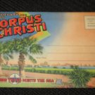 20 CORPUS CHRISTI, TEXAS  POSTCARDS   ERA 1950/60 UNUSED