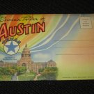 18  AUSTIN, TEXAS POSTCARDS ERA 1950/60 UNUSED
