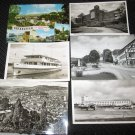 6  MISC, GERMANY  POSTCARDS   ERA 1950/60 UNUSED