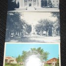 3 ILLINOIS POSTCARDS ERA 1950/60 UNUSED