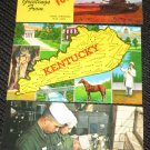 3 MISC KENTUCKY  POSTCARDS   ERA 1950/60 UNUSED