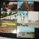 6 LOWER RIO GRANDE VALLEY POSTCARDS ERA 1950/60 UNUSED