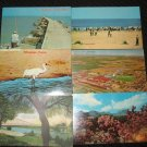6  MISC TEXAS  POSTCARDS ERA 1950/60 ONE USED