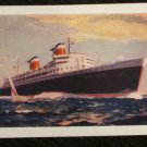 S.S. UNITED STATES SHIP POSTCARDS ERA 1950/60 UNUSED