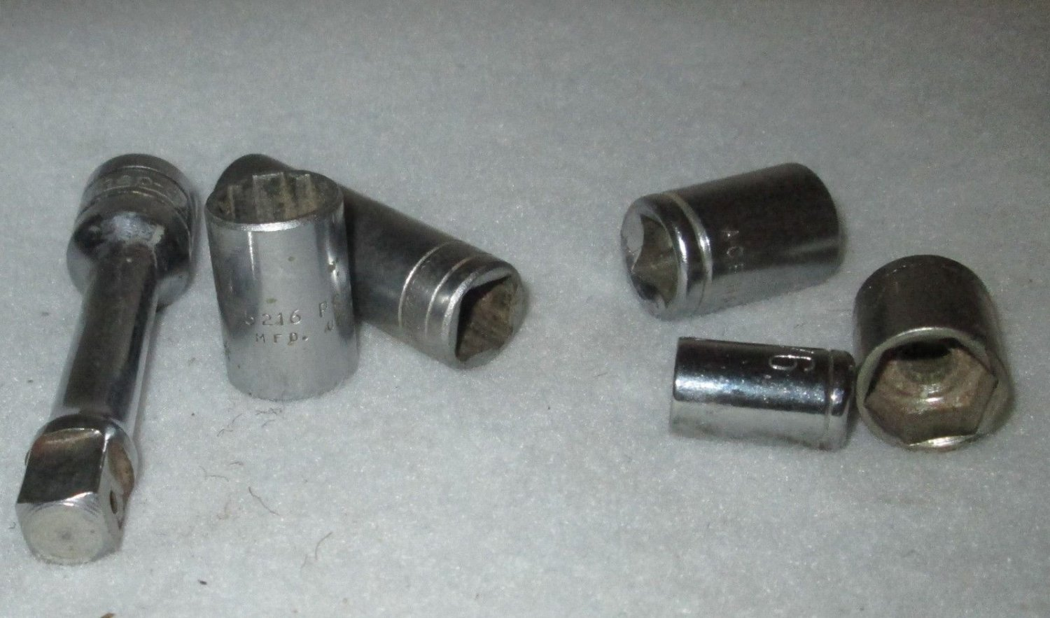 Snap On Proto New Britain & Misc Sockets 6 total pieces