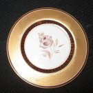 COLLECTIBLE PICKARD STUDIO CHINA  GOLD HAND PAINTED DECORATED PLATE SIGNED