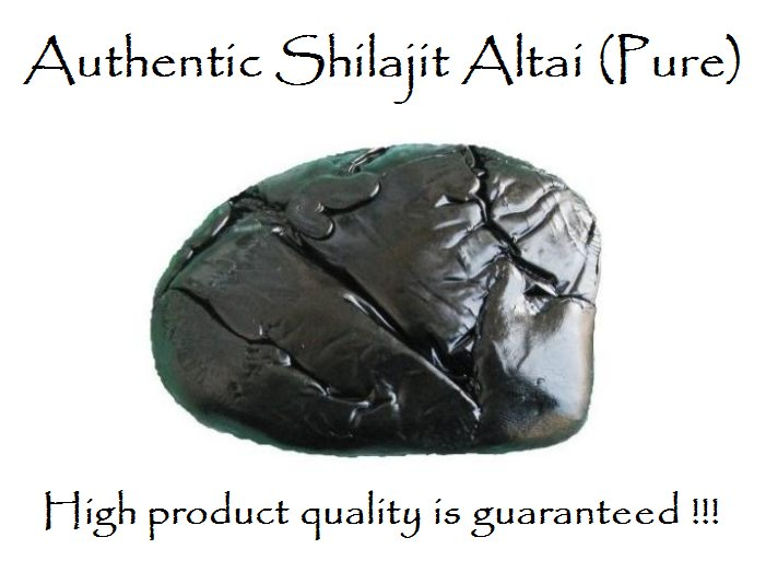 Shilajit Altai, no additives, 1 kg